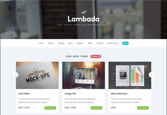 Lambada v1.0.0 – Easy Digital Downloads