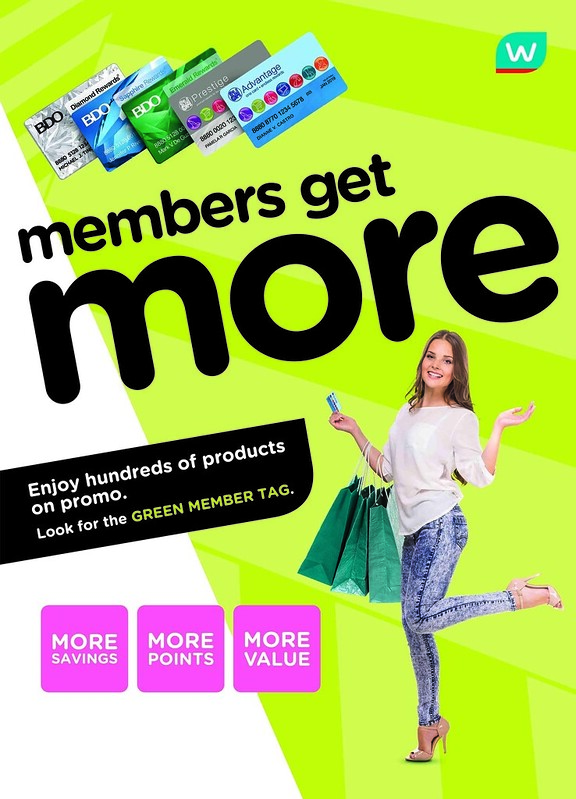 Watsons Members Get More 2 copy