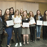 Sutherland Girls Group - Outstanding Squad Award