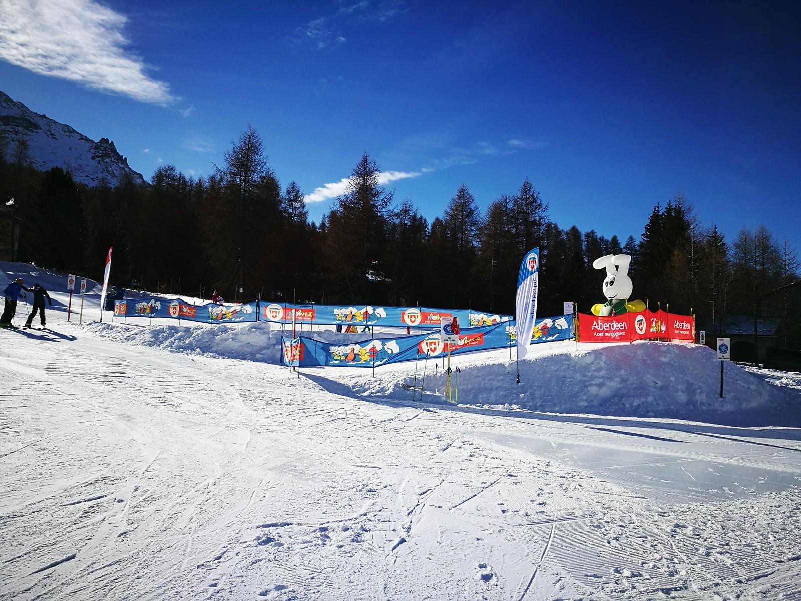 Ski school area