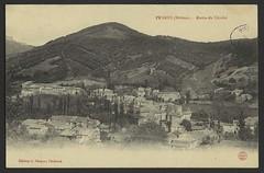 Peyrus (Drôme) - Route de Chaffair