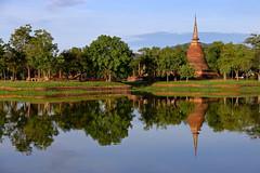 Wat Sa Si. Sukhothai