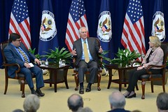 Secretary Tillerson Participates in the State Department's Foreign Affairs Day Celebration