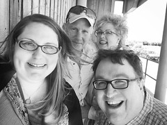 lunch with connie and bret, who traveled almost three hours to come see us. ❤ we had a wonderful time!