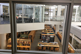 SF Public Library - Main branch study tables