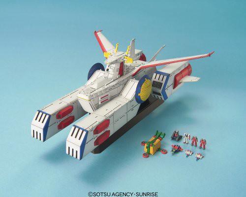 《機動戰士鋼彈》白色基地 1/1700 組裝模型【再次販售!】EXモデル EX-31 1/1700 ホワイトベース プラモデル