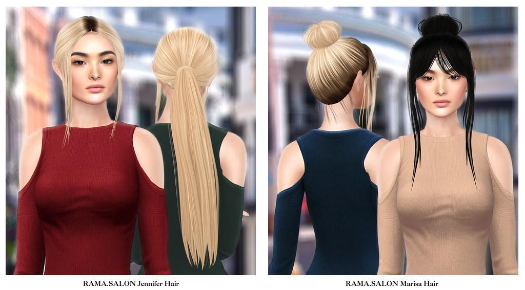 RAMA.SALON - Jennifer & Marisa Hair - SecondLifeHub.com