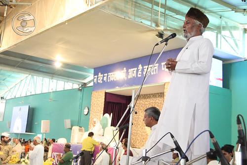 Mohammed Gaffar Khan, expresses his views