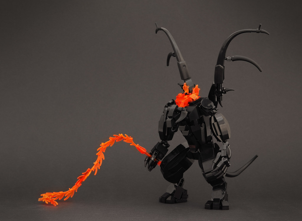 Balrog (custom built Lego model)