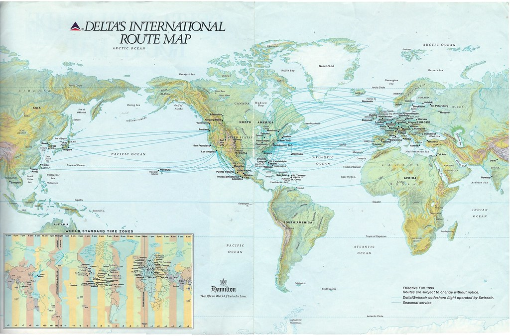 Delta Airlines Routes - United Airlines and Travelling