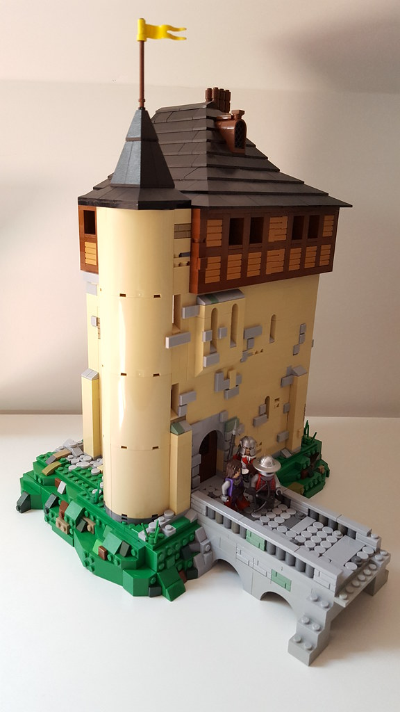 The Castle Crupet (custom built Lego model)