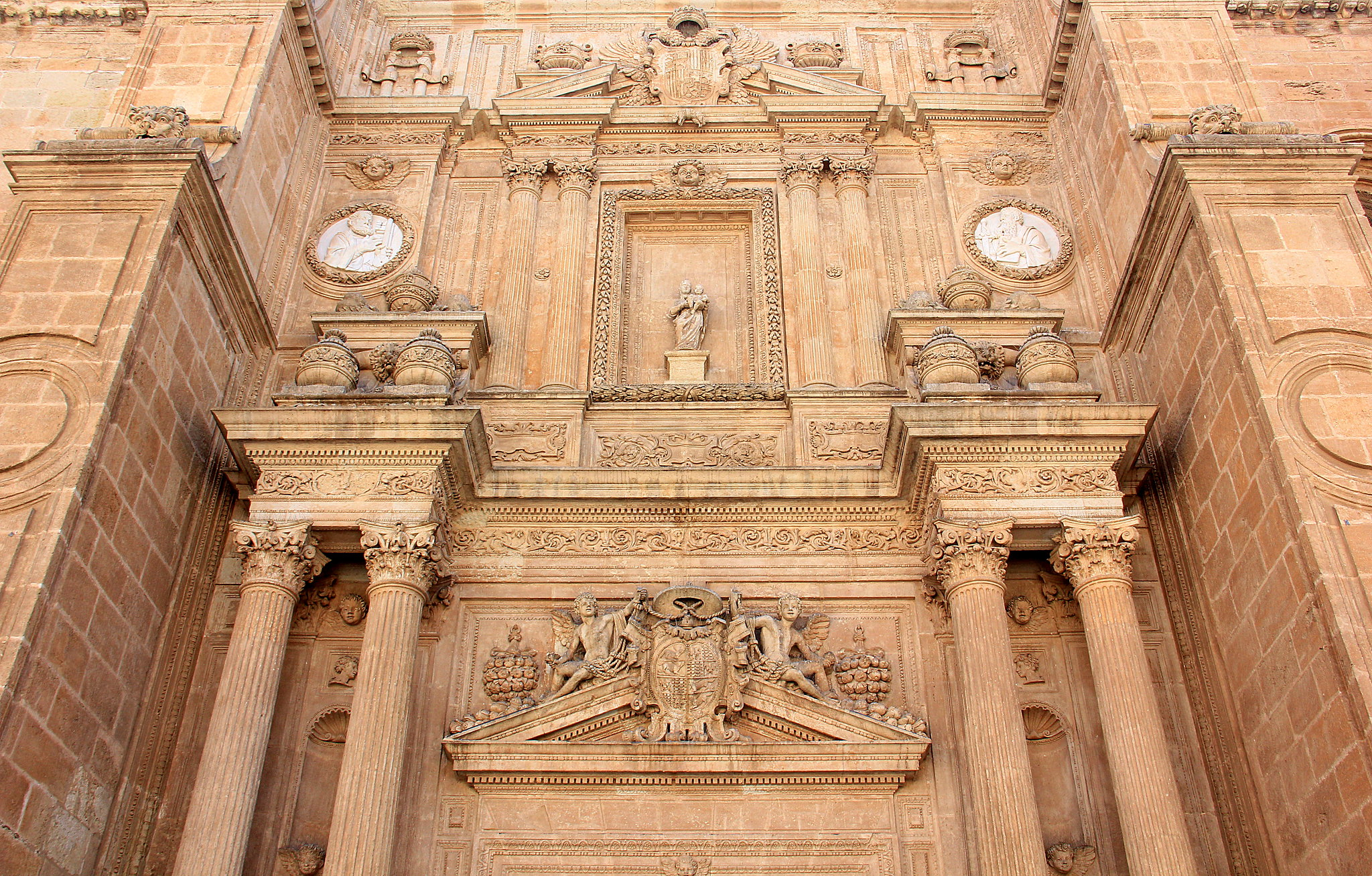 Almeria cathedral is beautiful