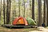 Camping, April 29, 2017