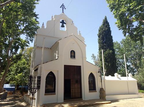 Ermita Nuestra Señora de Aguas Santas. Villaverde del río (Sevilla).