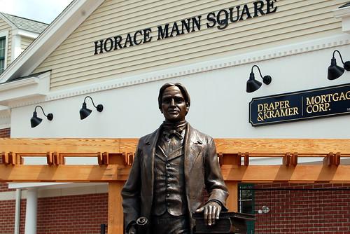 Horace Mann Statue