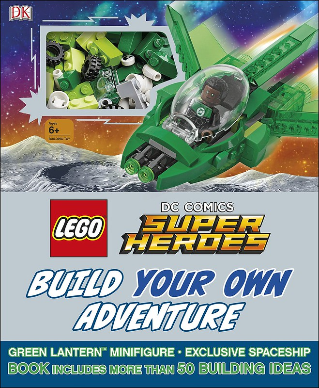 Lego DC Super Heroes Build Your Own Adventure