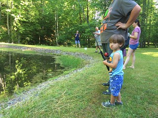 Children's fishing day at Fairy Stone State Park