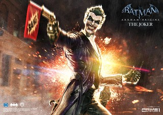 Prime 1 Studio -  《蝙蝠俠:阿卡漢起源》小丑 雕像 MMDC-21: THE JOKER (BATMAN: ARKHAM ORIGINS)