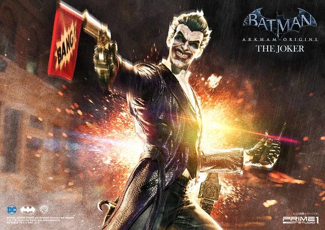 Prime 1 Studio -  《蝙蝠俠:阿卡漢起源》小丑 雕像 MMDC-21: THE JOKER (BATMAN: ARKHAM ORIGINS)