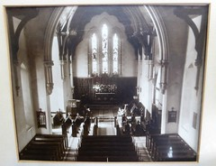 St Georges Anglican Church  - original altar - c1915
