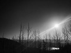 Sunrise on the slopes 🏂. #iphone7  #hike
