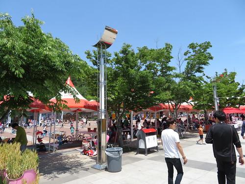 釜山慶南競馬場の子どもの遊び場