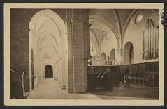 Abbaye de N.-D. d'Aiguebelle par Grignan (Drôme). Le Chœur des Religieux. Une nef (XIIe siècle)