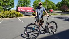 New bike for Karl