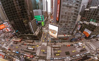 NYC Time sq. Penthouse Studios view - march 2017 #goodtime #nyc #penthousestudios #timesquare #lukemart 📷🎬🎼🎵💪👍😎