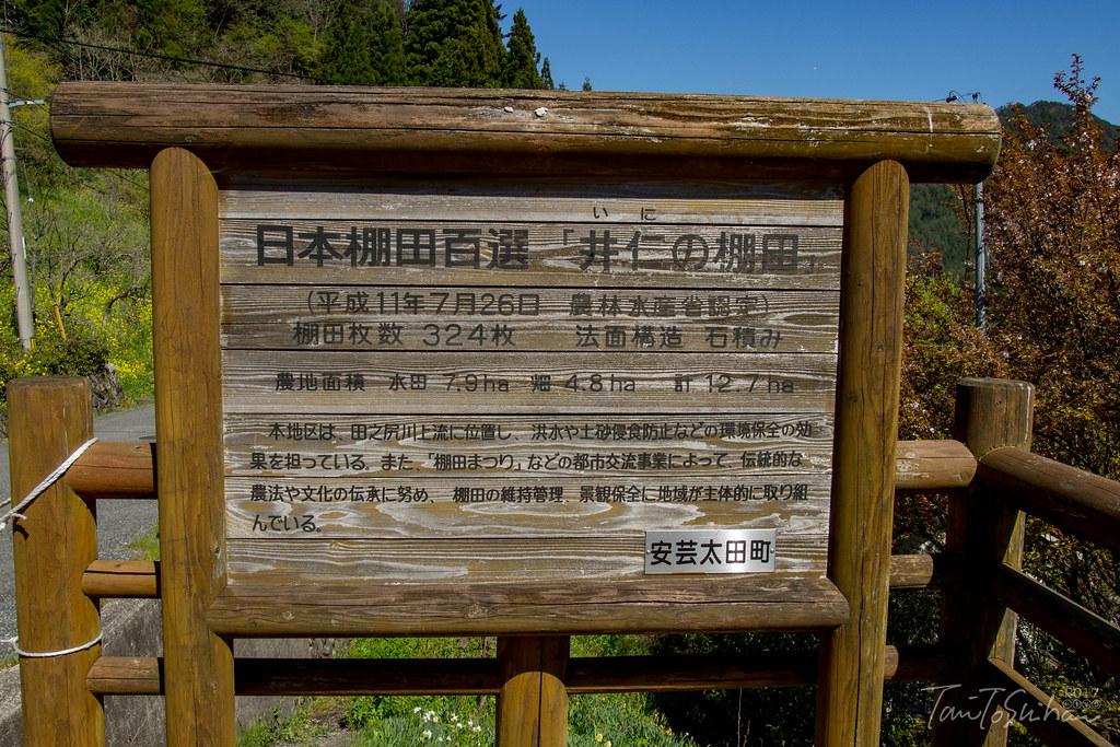 三段峡 井仁の棚田