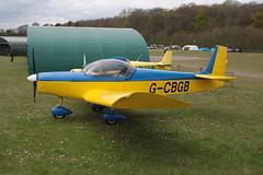 G-CBGB Zenair CH601UL Popham 290417