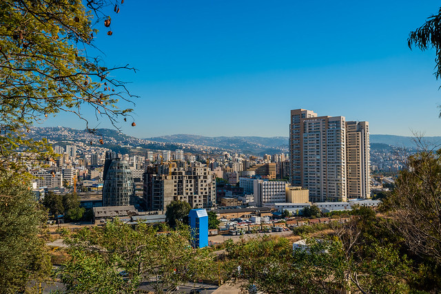 Nahr From Achrafieh, Lebanon