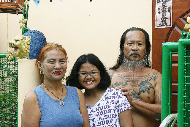 brahmin priest family portrait