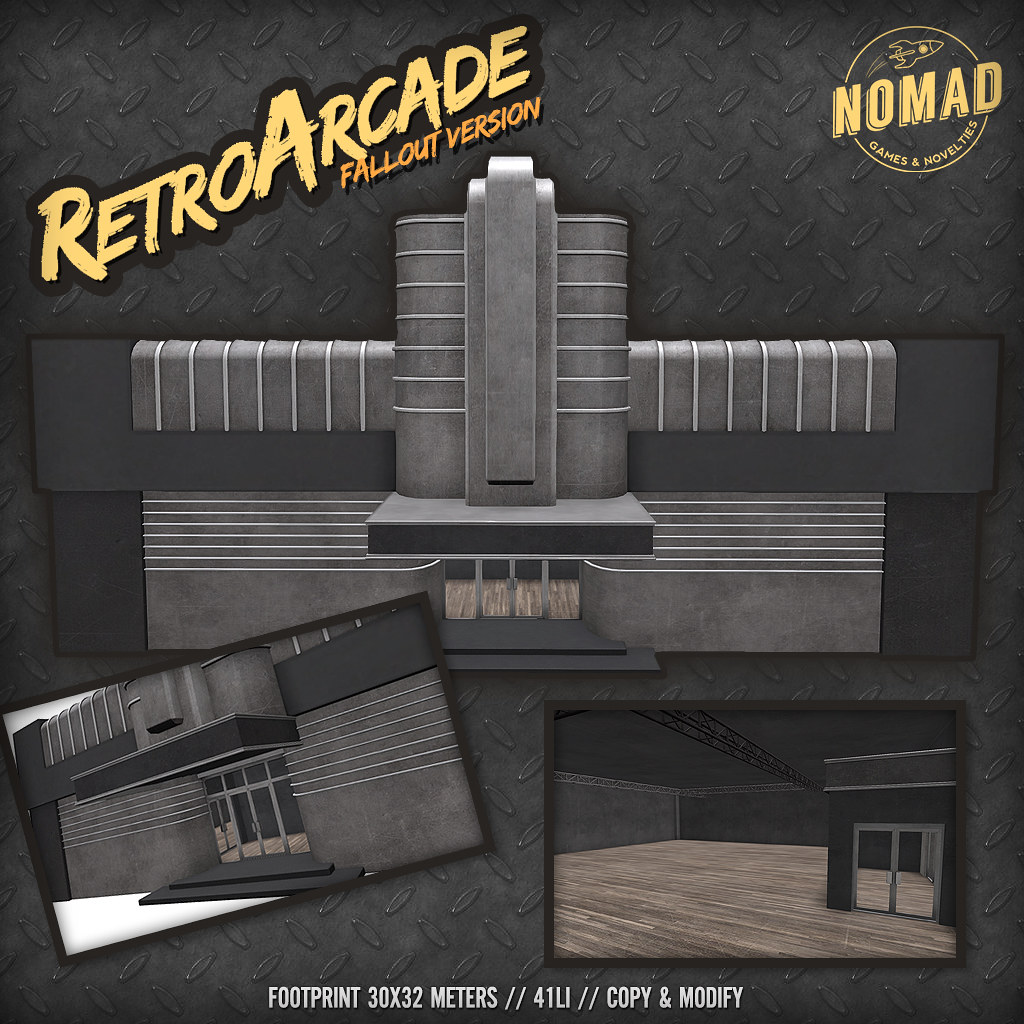 NOMAD // Retro Arcade - Fallout version - SecondLifeHub.com