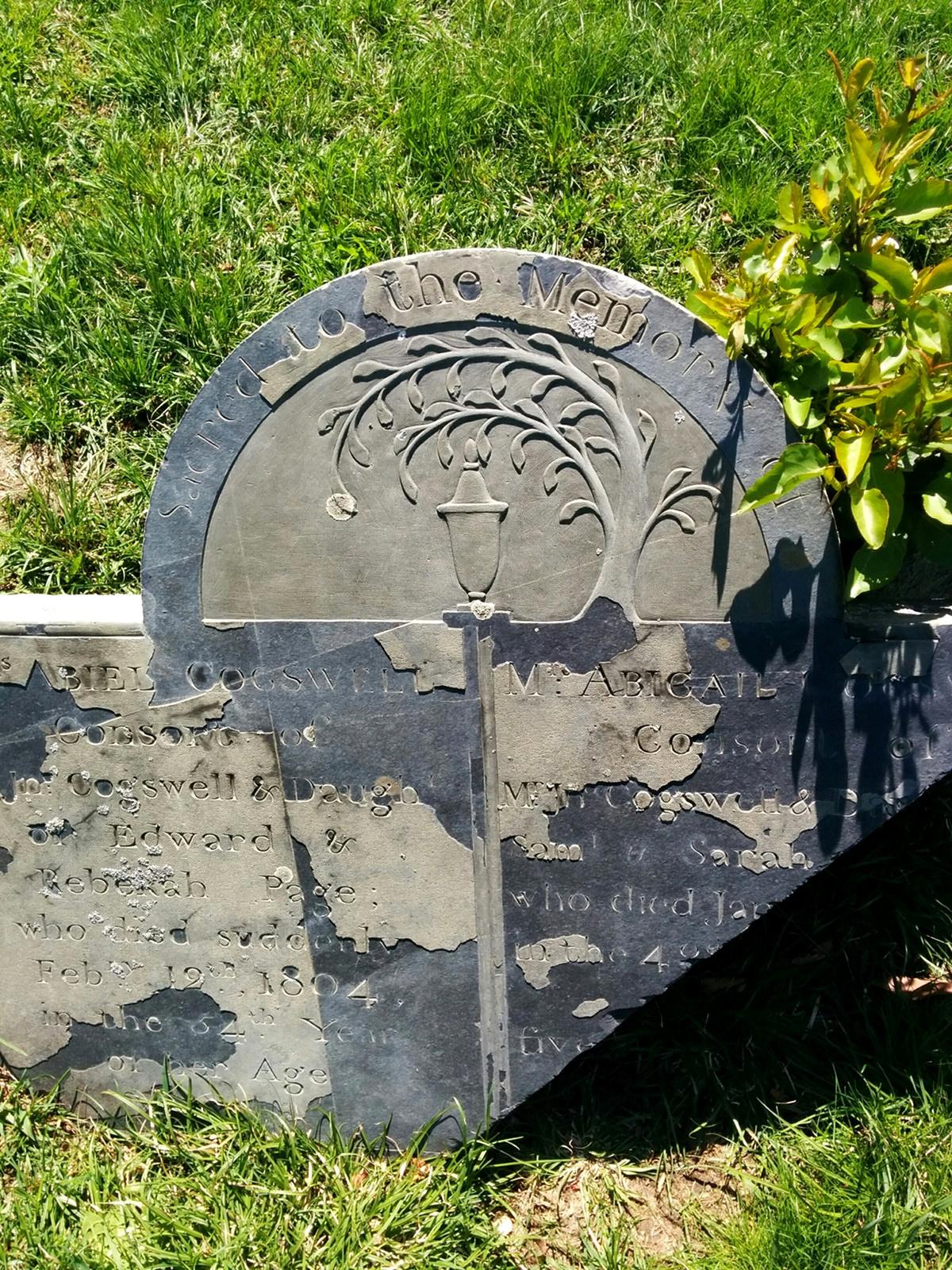 Boston s th century burying grounds minute history