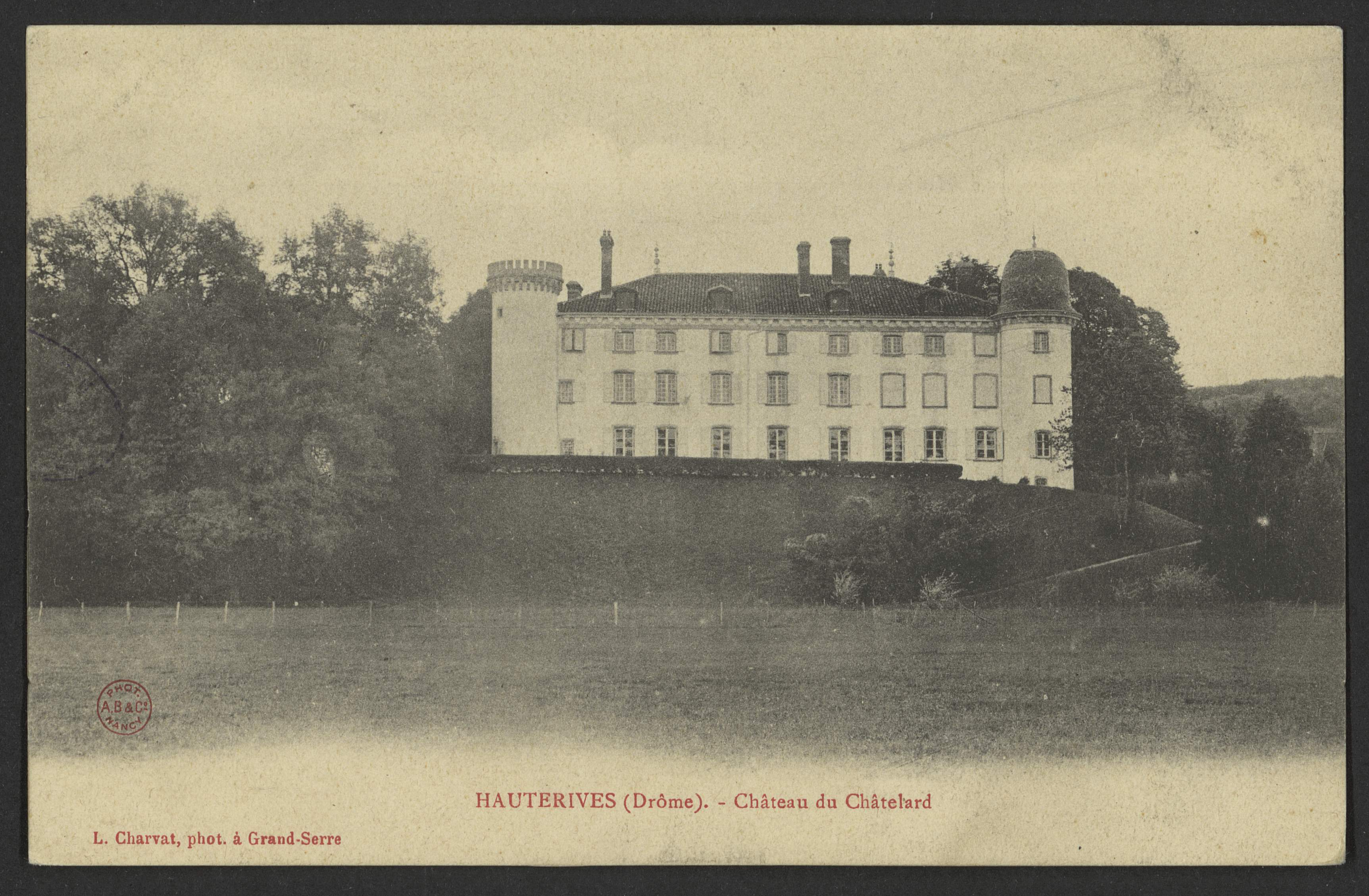 Hauterives (Drôme). - Château de Châtelard