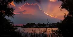 Glorious Sunset at Mango Lake