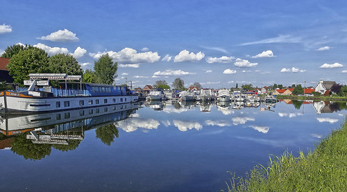 Le canal du Rhône au Rhin