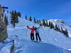 Trish and Laura on Headwall