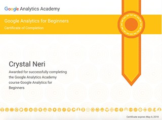 crystal neri google analytics