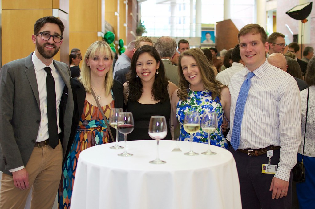 1st year Residents enjoying the 2015 Resident/Fellow Graduation