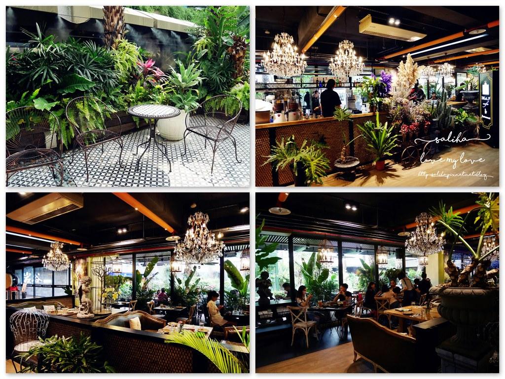 台中景觀餐廳推薦thai j二樓泰式料理秘境小花園