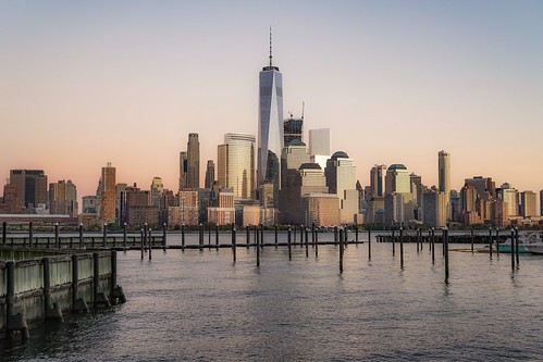 travel sonya7r2 newyork sunset manhattan view cityscape city