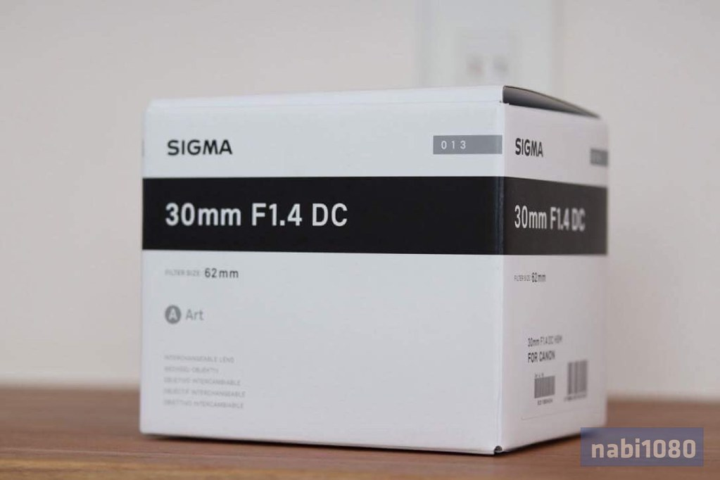 SIGMA 30mm F1.4 DC HSM01