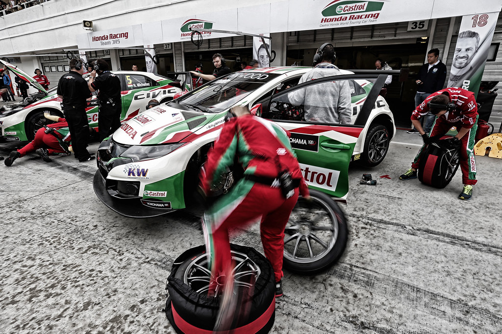 MONTEIRO Tiago (prt), Honda Civic team Castrol Honda WTC, ambiance portrait during the 2017 FIA WTCC World Touring Car Race of Hungary at hungaroring, Budapest from may 12 to 14 - Photo Jean Michel Le Meur / DPPI