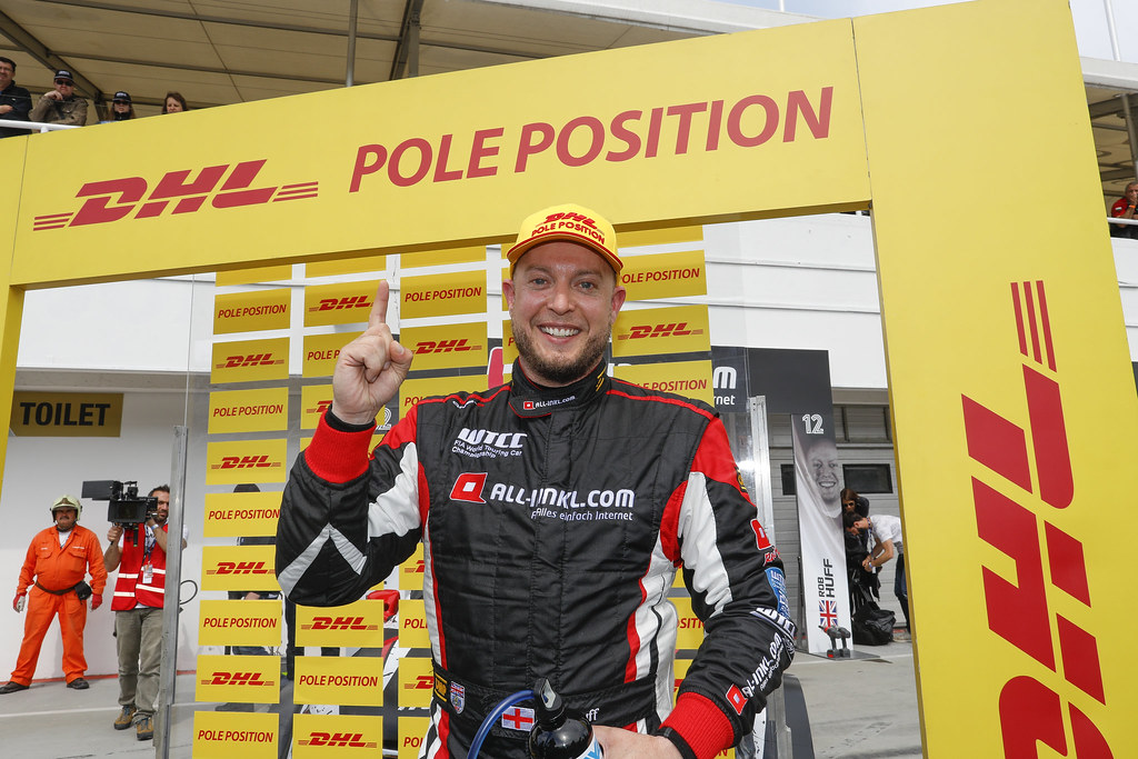 pole position HUFF Rob (gbr), Citroen C-Elysée team ALL-INKL.COM Munnich Motorsport, ambiance portrait   during the 2017 FIA WTCC World Touring Car Race of Hungary at hungaroring, Budapest from may 12 to 14 - Photo Frederic Le Floc'h / DPPI