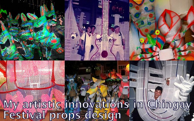 Our innovations in Chingay Parade props making and design
