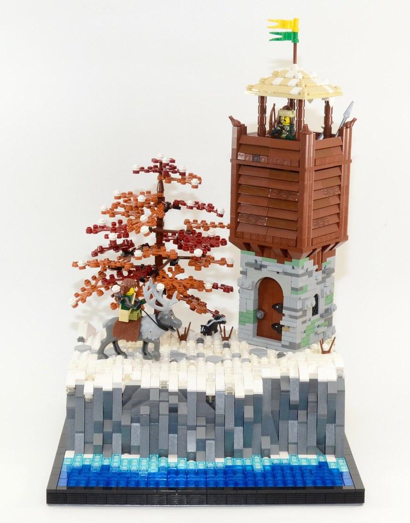Watchtower (custom built Lego model)