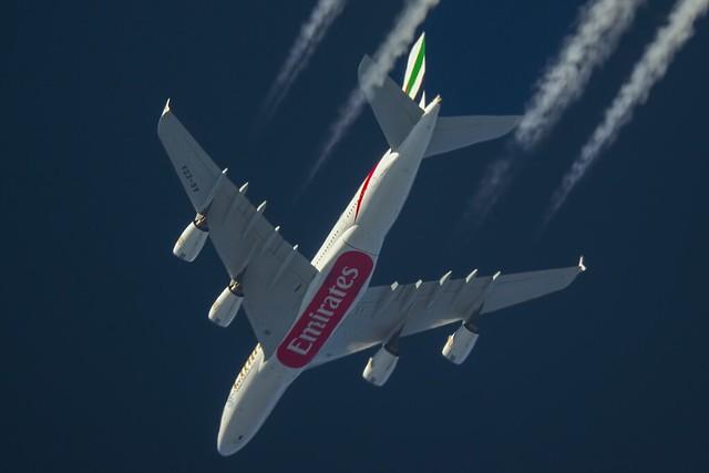 Emirates Airbus A380 A6-EDA