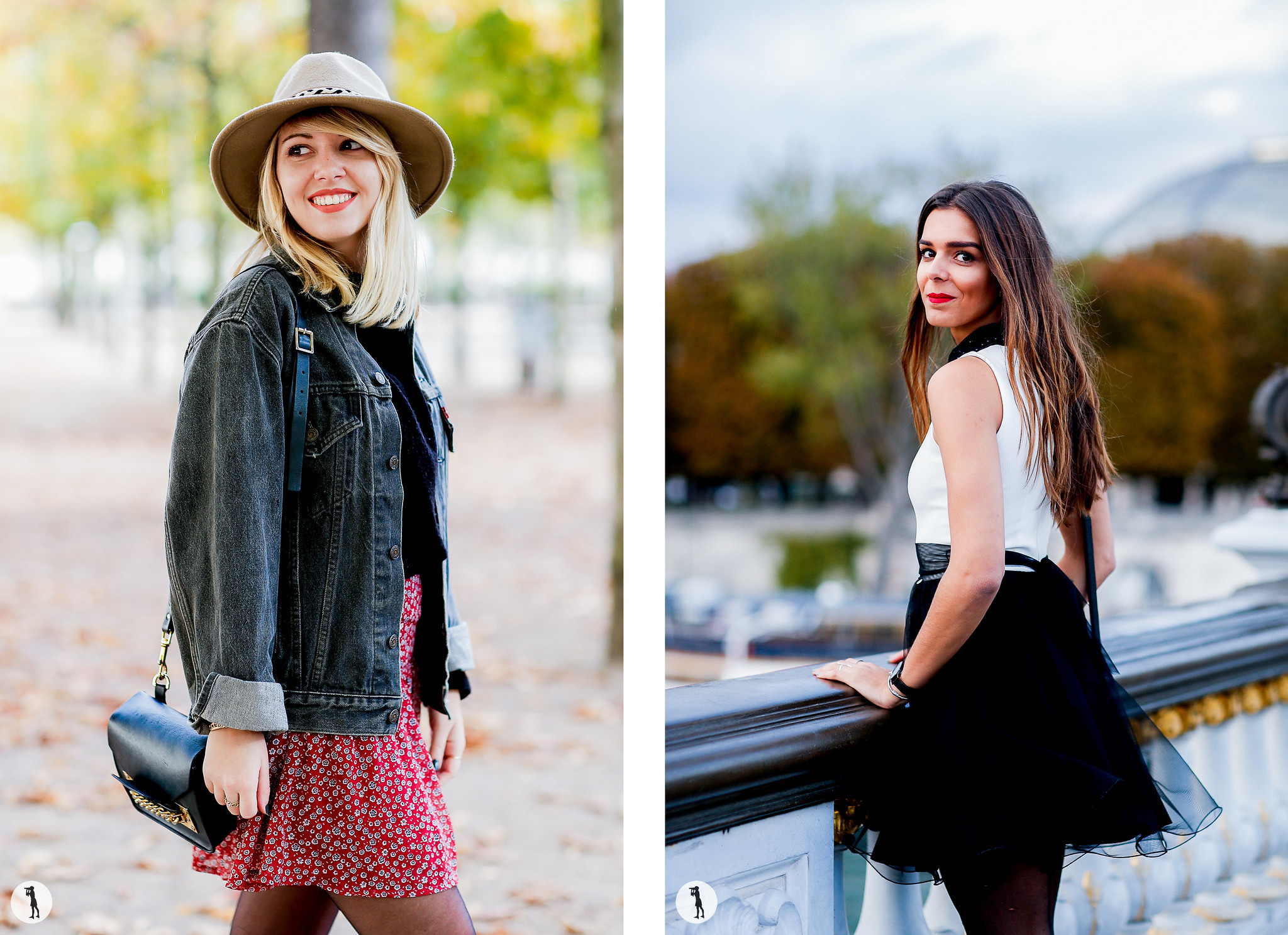 Street style Photo shooting with french bloggers in Paris.